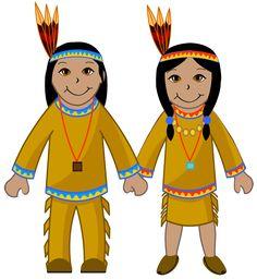 native american couple native americans clip art and couples rh pinterest com native american clipart images native american clip art borders and frames