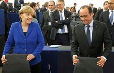 "Merkel et Hollande: ""Un total guerre en Siria arriverie a Europa"""