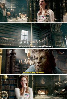 Emma Watson as Belle - From Beauty and the Beast New trailer