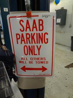 Saab Parking Saab 9 3 Aero, Saab Automobile, Saab 900, Volvo, Motors, Convertible, Funny Stuff, Motorcycles, Cars