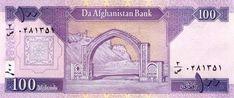 Afghanistan: Afghani bank note