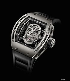 I'd love one of those watch, Richard Mille Tourbillon RM 052 Skull