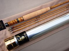 HARDY MORAN 7½' #4-WEIGHT 3-PIECE 2-TOP SPLIT CANE FLY ROD. MODEL № BRMR120. c2013. UNUSED