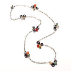 Long disk necklace   Eles Designs