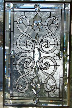 Stained Glass Window Hanging #StevesCustomStainedGlass