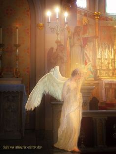 Angels at the Holy Altar