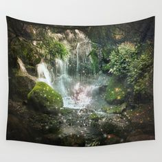When Time Stood Still Wall Tapestry