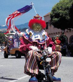 I just love a good parade!