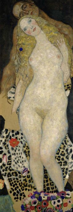 Gustav Klimt - Adam and Eve