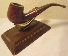 Vintage Dr. Grabow Crown Duke Full Bent Briar Estate Tobacco Smoking Pipe