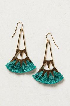 Tufted Ceri Earrings - anthropologie.com