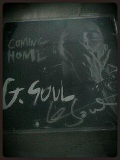G. Soul autographed album