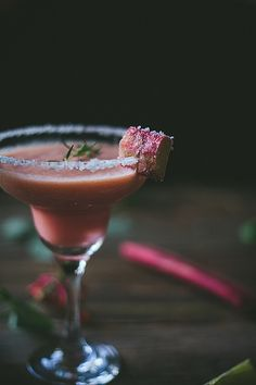 Rhubarb Margarita | Adventures in Cooking by Eva Kosmas Flores, via Flickr