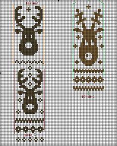 Fair Isle Knitting Patterns, Christmas Knitting Patterns, Christmas Embroidery, Knitting Charts, Knitting Stitches, Knit Patterns, Beaded Cross Stitch, Simple Cross Stitch, Cross Stitch Patterns