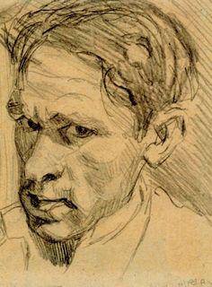 Self-portrait. Bruno Schulz
