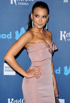 Naya Rivera wearing Dana Rebecca Design earrings