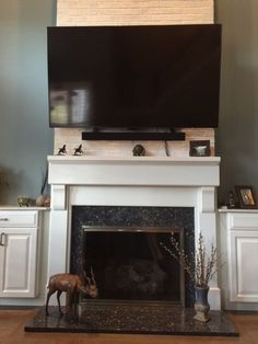 158 Best Tv Above The Fireplace Images On Pinterest Tv On Wall