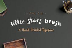 Little Stars Brush - Creative Fabrica