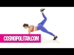 5 Moves to Lift Your Booty in 5 Minutes | Cosmopolitan - YouTube
