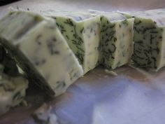 Herb recipes: Compound butter for roast chickens of the future and Chimichurri sauce. Herbs used: Sage, thyme, rosemary and parsley.