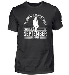 Jazz Jazzlover Geburtstag September T-Shirt Jazz T Shirts, Basic Shirts, Mens Tops, Fashion, Birthday, January, Moda, Fashion Styles, Fashion Illustrations