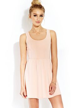 Must-Have Scuba Skater Dress $12.80 forever21 Product Code : 2000065317
