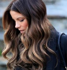 Kate Beckinsale | Balayage #hand #painting #color #trends #2013 #subtle #blonde #brown #pmtssafavi #paul #mitchell #schools #celebrity