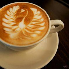 Latte Art: A Swan to A Phoenix by plasticknuckles