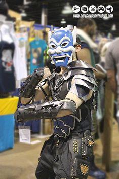Blue Spirit from Avatar Amazing Cosplay, Best Cosplay, Cosplay Style, Cool Costumes, Cosplay Costumes, Cosplay Ideas, Costume Ideas, Avatar Cosplay, Cosplay Helmet