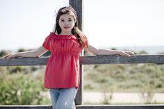 Sesión de fotos a niña en exteriores | Carlota y patata