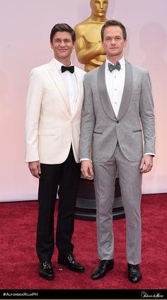 Neil Patrick Harris & David Burtka - Brunello Cucinelli & Calvin Klein - El Palacio de Hierro - #AlfombraRojaPH #Oscars2015