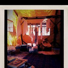 Tent store in Tulum. Fun