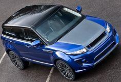 Königlich nicht nur von der Farbe her – Imperial Blue Kahn Range Rover RS250 Evoque