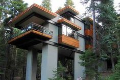 This is from the http://ecoscraps.com/category/green-buildings/ site. This building reminds me of the tanks from The Empire Strikes Back.