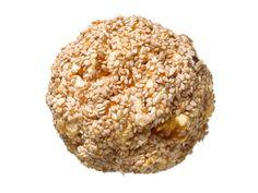 Honey-Nut Popcorn Balls from FoodNetwork.com