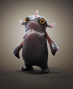 ArtStation - Flippers and Fins., Paul Braddock ⊚ pinned by www. 3d Character, Character Modeling, Character Concept, Concept Art, Alien Creatures, Cute Creatures, Fantasy Creatures, Sea Creatures, Aliens