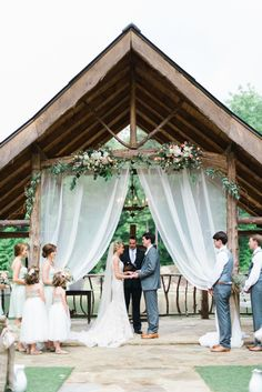 Photography: Rustic White Photography www.rusticwhite.com Ceremony Venue: Indigo Falls Events www.indigofallsevents.com/ Reception Venue: Indigo Falls Events www.indigofallsevents.com/ Bridesmaids' Dresses: Bella Bridesmaids www.bellabridesmaids.com/ View more: http://stylemepretty.com/vault/gallery/25527
