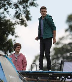 Liam Payne at the LWWY video shoot