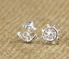 Cute Earring Vintage Earrings Handmade Unique Crystal Silver