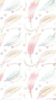 New Wallpaper Iphone Boho Simple Ideas Artsy Wallpaper Iphone, Feather Wallpaper, Free Wallpaper Backgrounds, Whatsapp Wallpaper, Tumblr Backgrounds, Painting Wallpaper, Trendy Wallpaper, Pretty Wallpapers, Cellphone Wallpaper