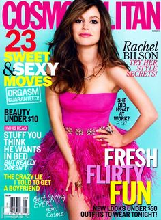 Rachel Bilson - Cosmopolitan Magazine Cover [United States] (May 2013)