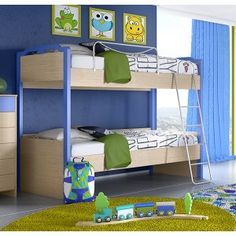 Κουκέτα Νο2 Bunk Beds, Desk, Top, Furniture, Home Decor, Desktop, Decoration Home, Room Decor, Trundle Bunk Beds