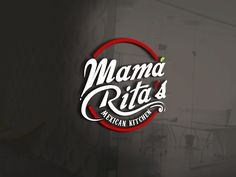 Mam¨¢ Rita's - Mama Rita's Mexican Kitchen needs a fresh appealing logo! We are a start-up full service Tex-mex/Authentic Mexican restaurant. Our target audience will be families however we . Restaurant Logo Design, Food Logo Design, Restaurant Names, Signage Design, Logo Food, Brand Identity Design, Branding Design, Typography Logo, Logo Branding