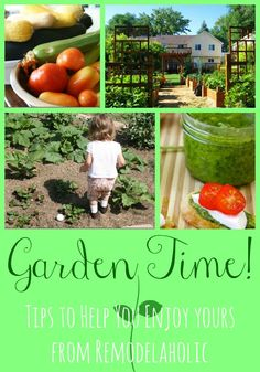 Gardening Tip Ideas for families!