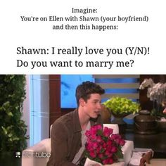shawn mendes imagine>>>Not kidding, I did this weird fangirl shriek that sounded like a dying whale was eating a cat.Bc ive never done it Pics Of Shawn Mendes, Shawn Mendes Memes, Shawn Mendes Imagines, I Really Love You, My Love, Minions, Magcon Imagines, Mendes Army, Jack Johnson