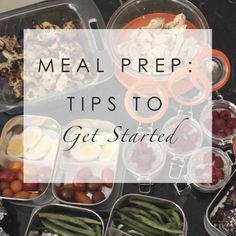 If you forced me to choose one single strategy to help you reach all your wellness goals, I wouldn't hesitate. I would tell you: Meal Prep.   WHY MEAL PREP? Meal prep is a key healthy living practices that my clients and I swear by. In short, meal prep is about preparing ingredients or entire meals ahead …
