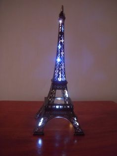 String Lights Eiffel Tower : XMAS on Pinterest Led, Diy Light and Led String Lights