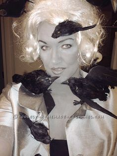 Cool Grayscale Costume: 1963 Alfred Hitchcock's The Birds...