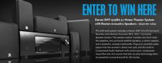 enter to win Denon Home Theater System