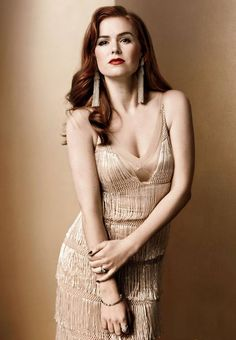 Isla Fisher  Gotham Magazine - May 2013  Shot by Art Streibler  Hair by Marcus Francis for Starworks Artists